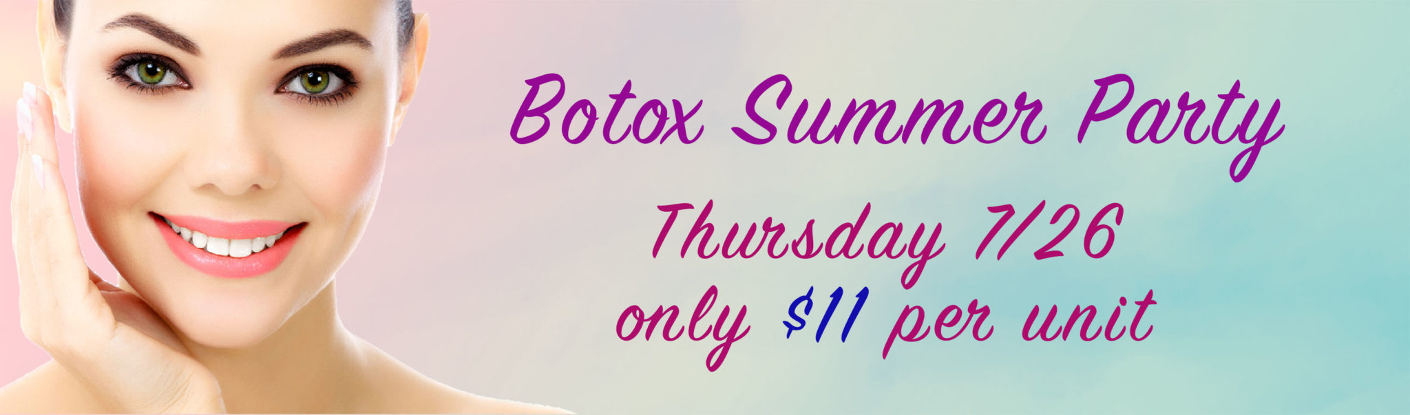Botox summer party