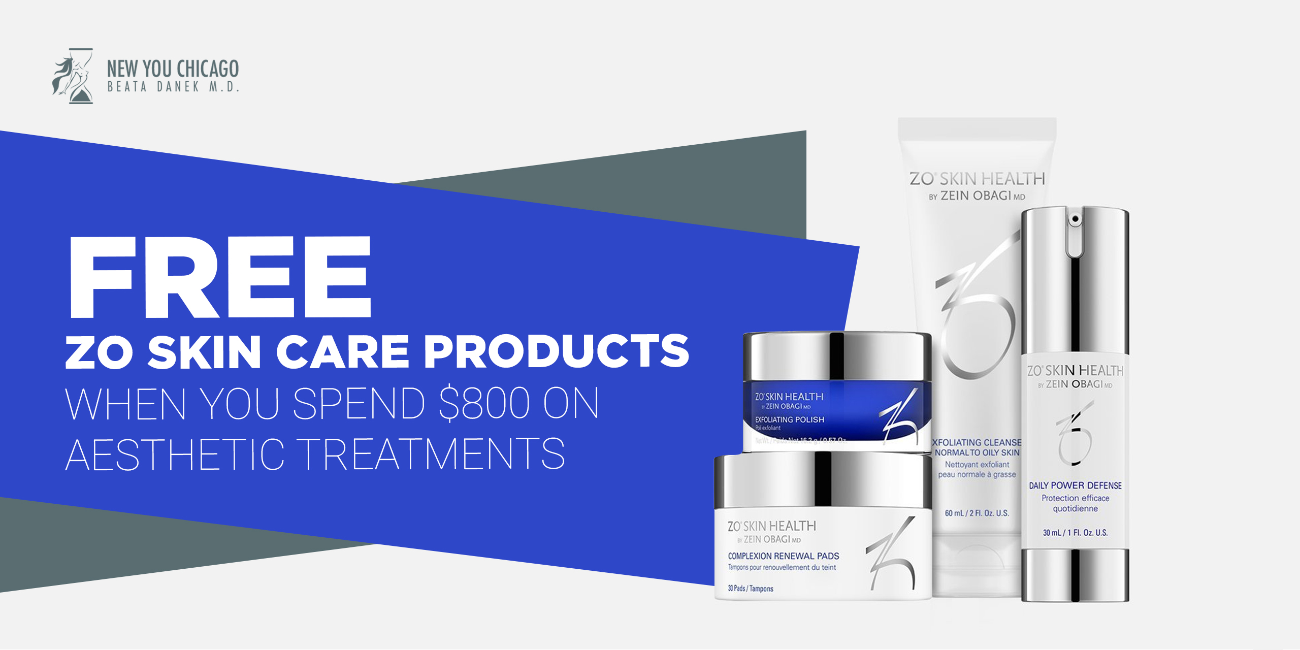Free ZO Skin Care Products